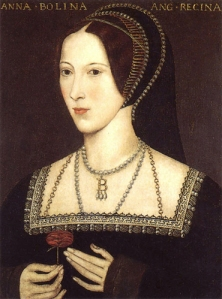 Anne Boleyn: possibly the most famous and most formidable of Henry VIII's wives, even though her marriage (and reign), only lasted 3 years.