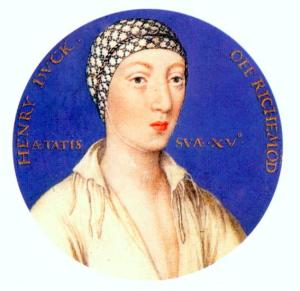 Henry Fitzroy (Fitzroy meaning 'son of the King')
