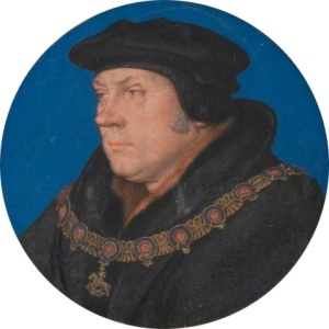 Thomas cromwell - another one of Hans Holbeins portraits.