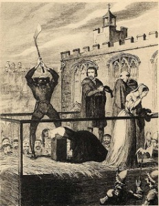 The execution of poor Katherine Howard