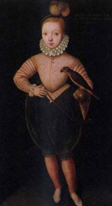 A young James I of England and VI of Scotland.