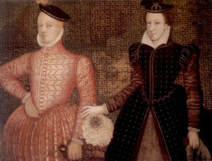 Mary Queen of Scotts and the right Honourable prick Henry Stuart (Lord Darnley)
