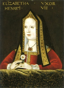 Liz of York -also hot (though this painting does make it look like she has a thyroid problem)