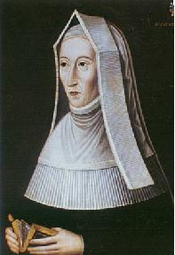 Henry VII's Ma, Margret Beaufort and her best 'do not fuck with me' face