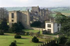 Hardwick Old Hall (image courtesy of English Heritage).