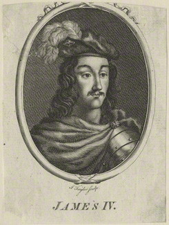 NPG D23905; King James IV of Scotland probably by Isaac Taylor