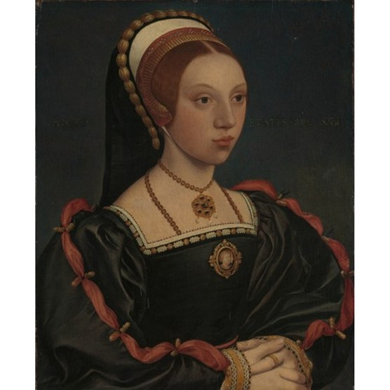 Portrait of a Young Woman (Catherine Howard), ca